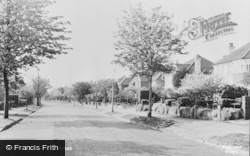 Banstead, Higher Drive c.1960