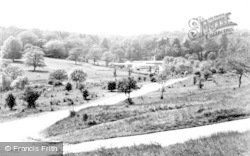 Banstead, Park Farm From Park Road c.1955