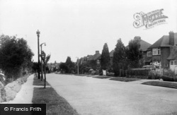 Banstead, Tattenham Way c.1960
