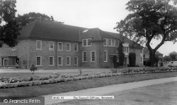 Banstead, The Council Offices c.1960
