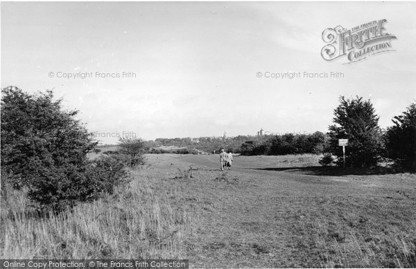 Photo of Banstead, The Downs c.1955
