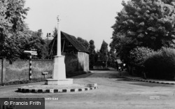 Banstead, The Memorial c.1955