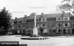 Banstead, The Memorial c.1965