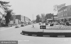 Banstead, The Roundabout c.1960