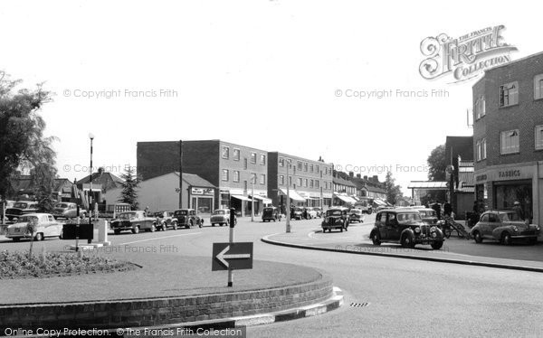 Photo of Banstead,  The Roundabout c.1960