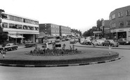 Banstead, the Roundabout c1965