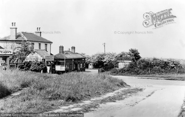 Photo of Banstead, The Station c.1955