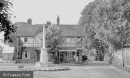 Banstead, War Memorial c.1955