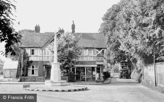 Banstead, War Memorial c1955