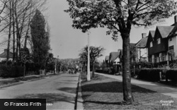 Banstead, Warren Road c.1960