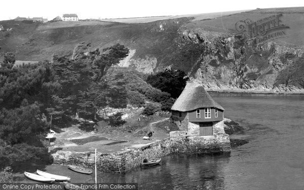 Photo of Bantham, Boathouse And The River Avon c.1950