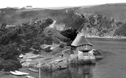 Bantham, Boathouse And The River Avon c.1950