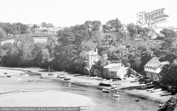 Photo of Bantham, Boats In The Quay c.1955