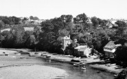 Bantham, Boats In The Quay c.1955