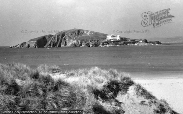 Photo of Bantham, Burgh Island c.1950