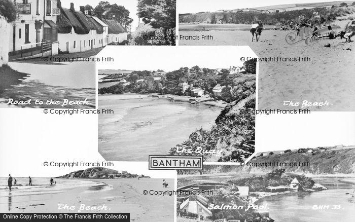 Photo of Bantham, Composite c.1955