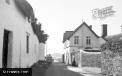 Bantham, Ham Gate From Street c.1950