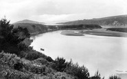 Bantham, Mouth Of The River Avon 1925