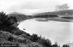 Mouth Of The River Avon 1925, Bantham