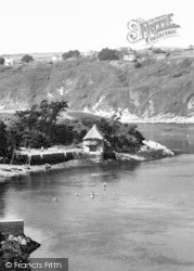 Mouth Of The River Avon c.1955, Bantham