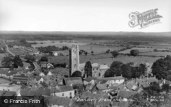 From The Hill c.1960, Banwell
