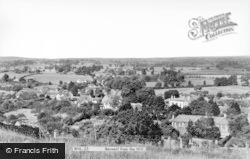 Banwell, From The Hill c.1960