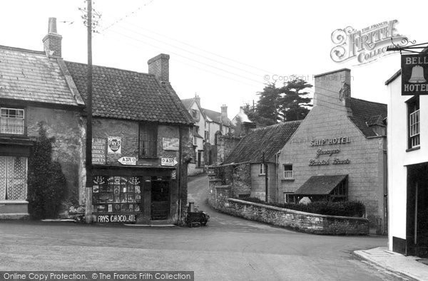 Photo of Banwell, The Square c.1955
