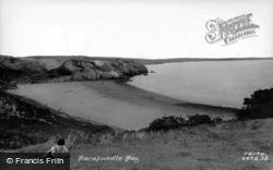 c.1955, Barafundle Bay