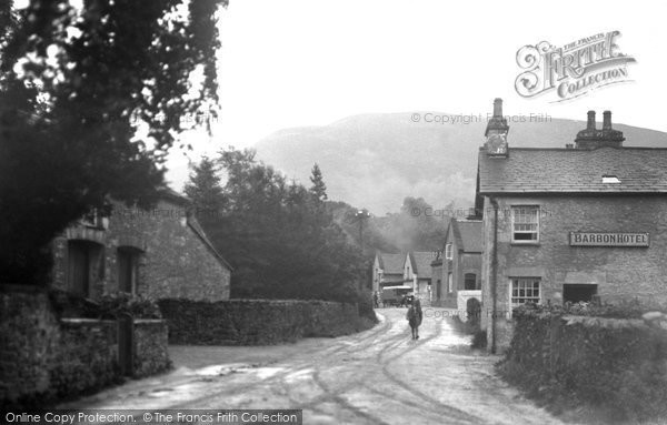 Photo of Barbon, Barbon Hotel c.1900