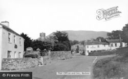 Barbon, Post Office And Inn c.1955