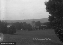 Barbon, St Bartholomew's Church c.1900