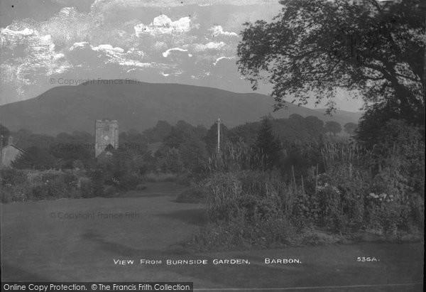 Barbon, View From Burnside Garden c.1900