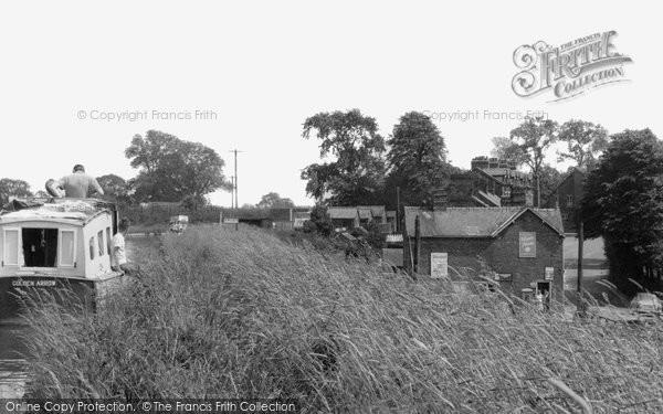 Barbridge, Shropshire Union Canal c.1955