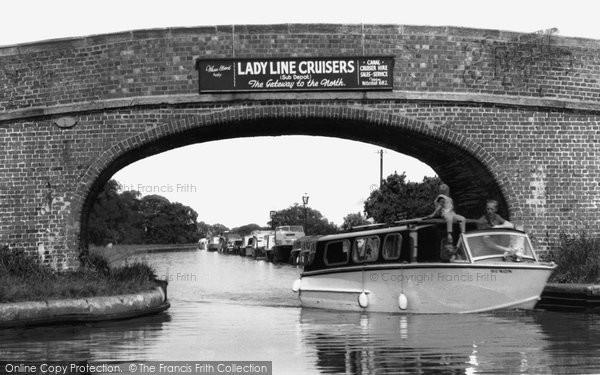 Photo of Barbridge, The Canals, Barbridge Junction c.1955