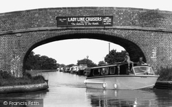 Barbridge, The Canals, Barbridge Junction c.1955