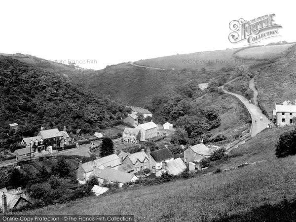 Barbrook, Beggars Roost 1935