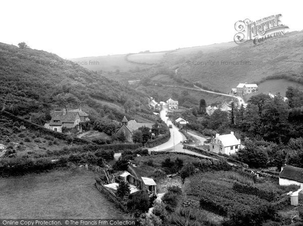 Photo of Barbrook, The Village 1935