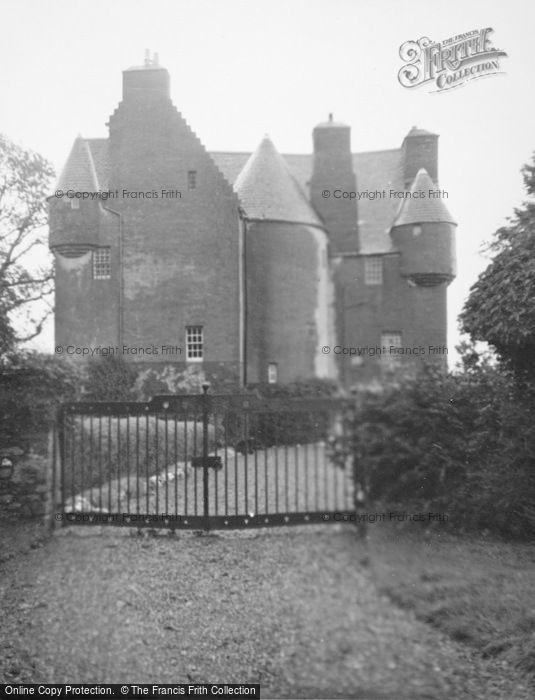 Photo of Barcaldine Castle, Entrance 1949
