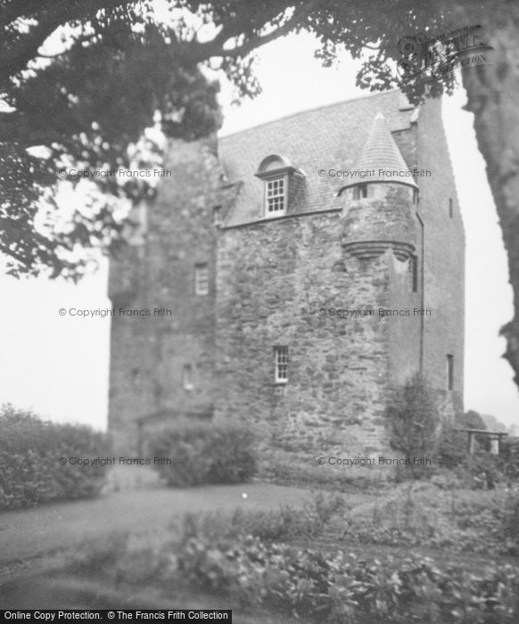 Photo of Barcaldine Castle, From Garden 1949