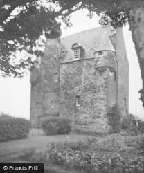 Barcaldine Castle, From Garden 1949