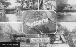 Barcombe, Anchor House, Composite c.1960