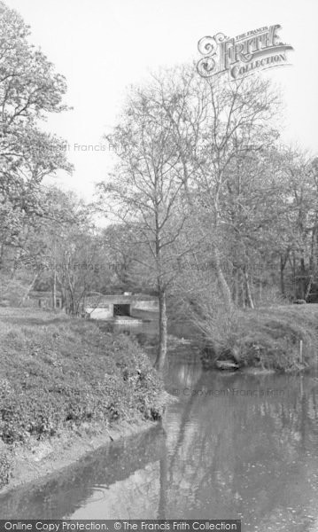 Photo of Barcombe, Barcombe Mills c.1960