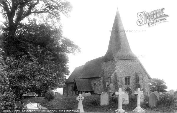Photo of Barcombe, Church Of St Mary 1894