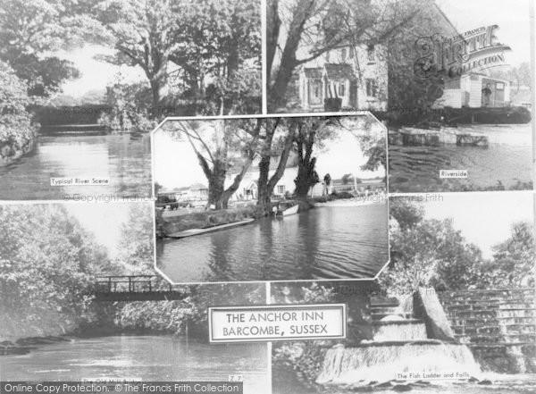 Photo of Barcombe, Composite c.1960
