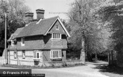 East Lodge c.1960, Barcombe