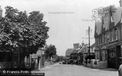 High Street c.1950, Barcombe