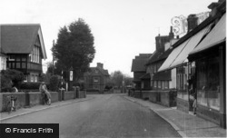 High Street c.1955, Barcombe