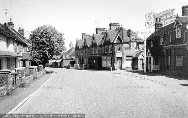 Photo of Barcombe, High Street c.1955