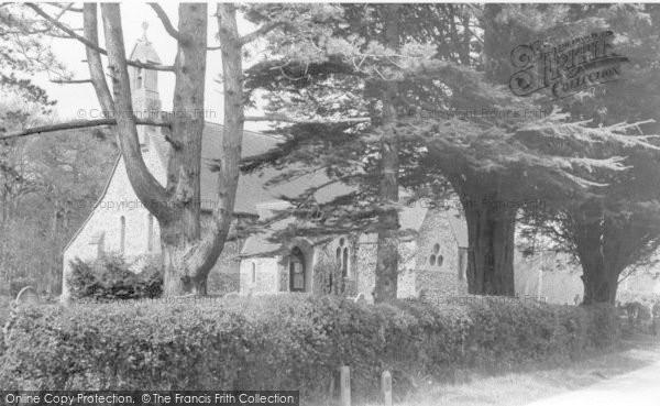 Photo of Barcombe, St Bartholomew's Church c.1955