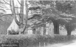 Barcombe, St Bartholomew's Church c.1955